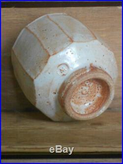 Warren MacKenzie pottery vase, marked