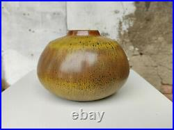 Wendelin Stahl Studiokeramik Vase 60er Jahre German Studio Art Pottery Midmod