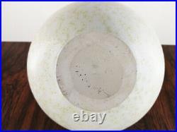 Wendlin Stahl Studiokeramik Kristallglasur Große Keramikvase Studio Art Pottery