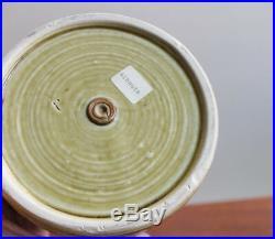 Wilhelm Albouts Studiokeramik Vase Sang De Boeuf Glaze German Studio Pottery