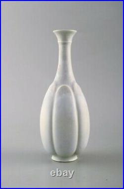 Wilhelm Kåge for Gustavsberg Studio. Vase in glazed ceramics. 1960s