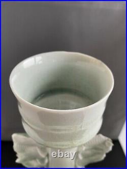 Wonderful Colin Pearson Winged Porcelain Studio Vase